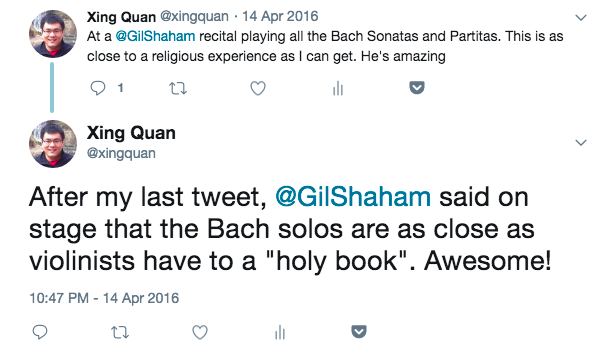 A Religious Experience with Gil Shaham and Bach | xingdig com